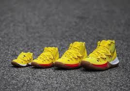 Spongebob Nike Kyrie Full Family Sizes Sneakernews Com