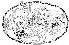 Princess Jasmine And Aladdin Coloring Pages Real Madid Vs