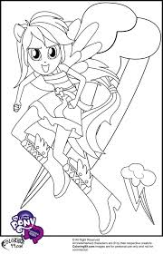 Small Picture Equestria Girls Coloring Pages fablesfromthefriendscom