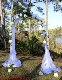 Wedding Arch Decorations Wedding Arch With White Hydrangeas Unique Floral Arrangements By