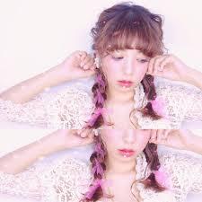 リボン編み込みで簡単長さ別髪型別ヘアアレンジhair