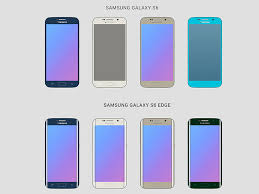 samsung galaxy s6 colors. samsung galaxy s6 wireframes colors