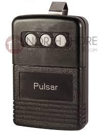 pulsar 8833t gate and garage door opener remote transmitter 318mhz