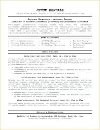 Account Beautiful Accounts Receivable Resume Templates Best Sample
