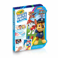 crayola color wonder mini mess free colour on the go paw patrol