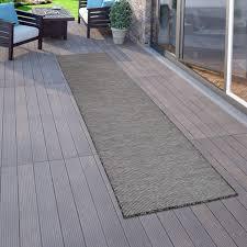 Eventuell zusätzlich benötigtes zubehör wie kunststoff abstandshalter. Amazon De Paco Home In Outdoor Teppich Fur Wohnzimmer Balkon Terrasse Flachgewebe In Grau