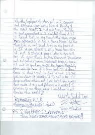 tupac shakur s earnest prison letter selling for  tupac shakur jailhouse letter