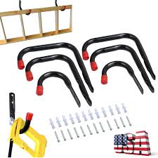 details about 6x heavy duty garage wall mounted utility hanging hooks hanger storage organizer