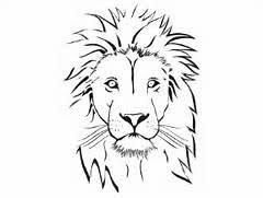 Small Picture Coloring Page Lion Head lion head coloring page lions head