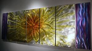 abstract wall decor fresh wilmos kovacs xl abstract painting on metal sculpture