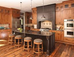 lake house traditional kitchen