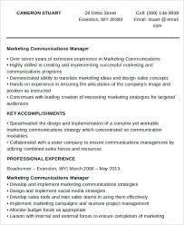 28 Marketing Resume Templates Pdf Doc Free Premium Templates
