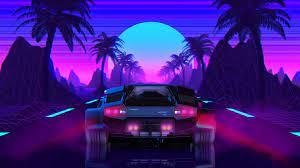 black car #car #neon #Lamborghini ...