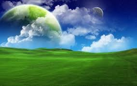 grass and sky backgrounds. Preview Wallpaper Grass, Green, Sky Blue, Clouds, Summer Grass And Backgrounds
