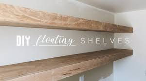 How To Make Floating Shelves With Lights Diy Floating Shelves