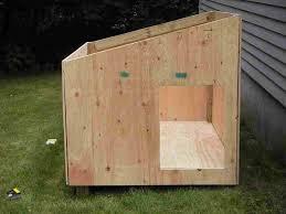 pet kennel raised rhcom boomer u george darker stain duplex with free doors rhhayneedlecom boomer diy