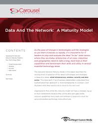 data and the network a maturity model carousel industries
