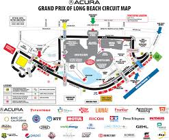 Long Beach Arena Seating Chart Circuit Map Parking Acura Grand Prix Of Long Beach