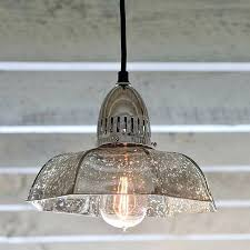 mercury glass chandelier shade lamp shades antique candy dish pendent pottery barn