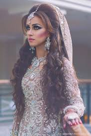 photo by memoirz beautiful long curly hair cream silver indian bridal dress archeress huntress warrior in 2018 indian wedding hairstyles