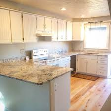 and the picture imately above this section shows a remodeled kitchen that highlights what is possible within the framework of an existing kitchen
