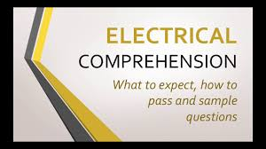 electrical comprehension tests what to expect how to pass sample questions