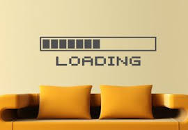 nerdy office decor. Perfect Nerdy Loading Bar Wall Decal Decor For Nerds  Geeky Decoration Timothyu0027s  Office On Nerdy Office