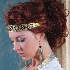 Заколки для волос как с ними делать прически как изготовить  греческая прическа с повязкой