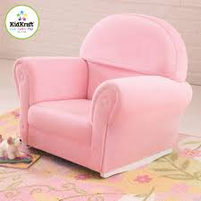 kids rocking chairs you ll love wayfair velour personalized kids rocking chair