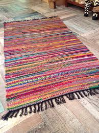 fab multi coloured shabby chic braided cotton and jute rugs for floor decoration ideas