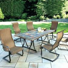 hexagon patio table sets hexagon patio table sets round patio table set brilliant outdoor furniture round