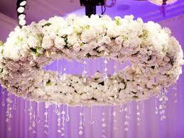 fl white rose chandelier
