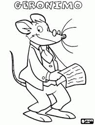 Small Picture Geronimo Stilton coloring pages Helena Pinterest Geronimo