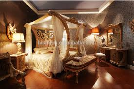 four poster bedroom furniture. Luxury French Rococo Style Wood Carved Marquetry Canopy Bed/ Royal Four Poster King Size Bed Bedroom Furniture T