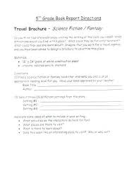 Middle School Book Report Template High Gallery Free Non Fiction ...
