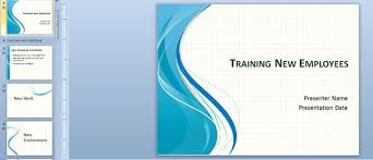 Employee Training Powerpoint Training New Employees Powerpoint Template Th Business