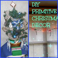 DIY PRIMITIVE CHRISTMAS DECOR - YouTube