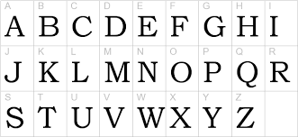 bookman old style uppercase preview