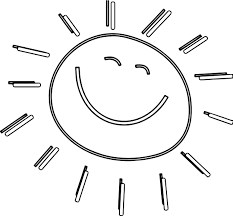 Small Picture Summer Funny Happy Sun Coloring Page Wecoloringpage
