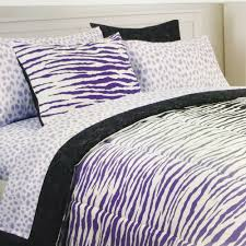 details about duvet cover set bedding full queen cynthia rowley 3 piece zebra purple gray new