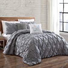 Brooklyn Loom Jackson Pleat Comforter Set