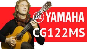 Обзор <b>классической гитары Yamaha</b> CG122MS. - YouTube