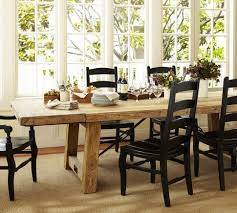 pottery barn style dining table:  seats  benchwright reclaimed wood extending dining table wax pine finish