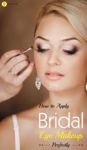 knowing that eyes are the best feature of the face you should highlight them with perfect bridal make up for the eye this indian bridal makeup article