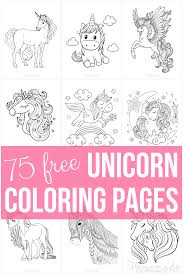Be sure to visit many of the other fantasy coloring pages aswell. 75 Magical Unicorn Coloring Pages For Kids Adults Free Printables