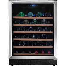 Display product reviews for 46-Bottle Stainless Steel Wine Chiller