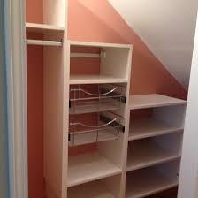 closet shelving. Places Under Slopes Closet Shelving