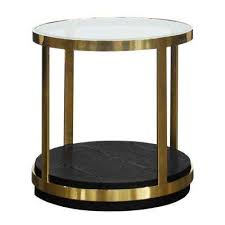 hattie glass top end table