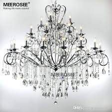 wrought iron chandeliers large arms wrought iron chanlier crystal light fixture chrome re crystal hanging lamp