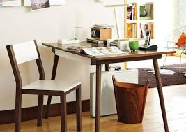 architecture simple office room. with simple office desk architecture room